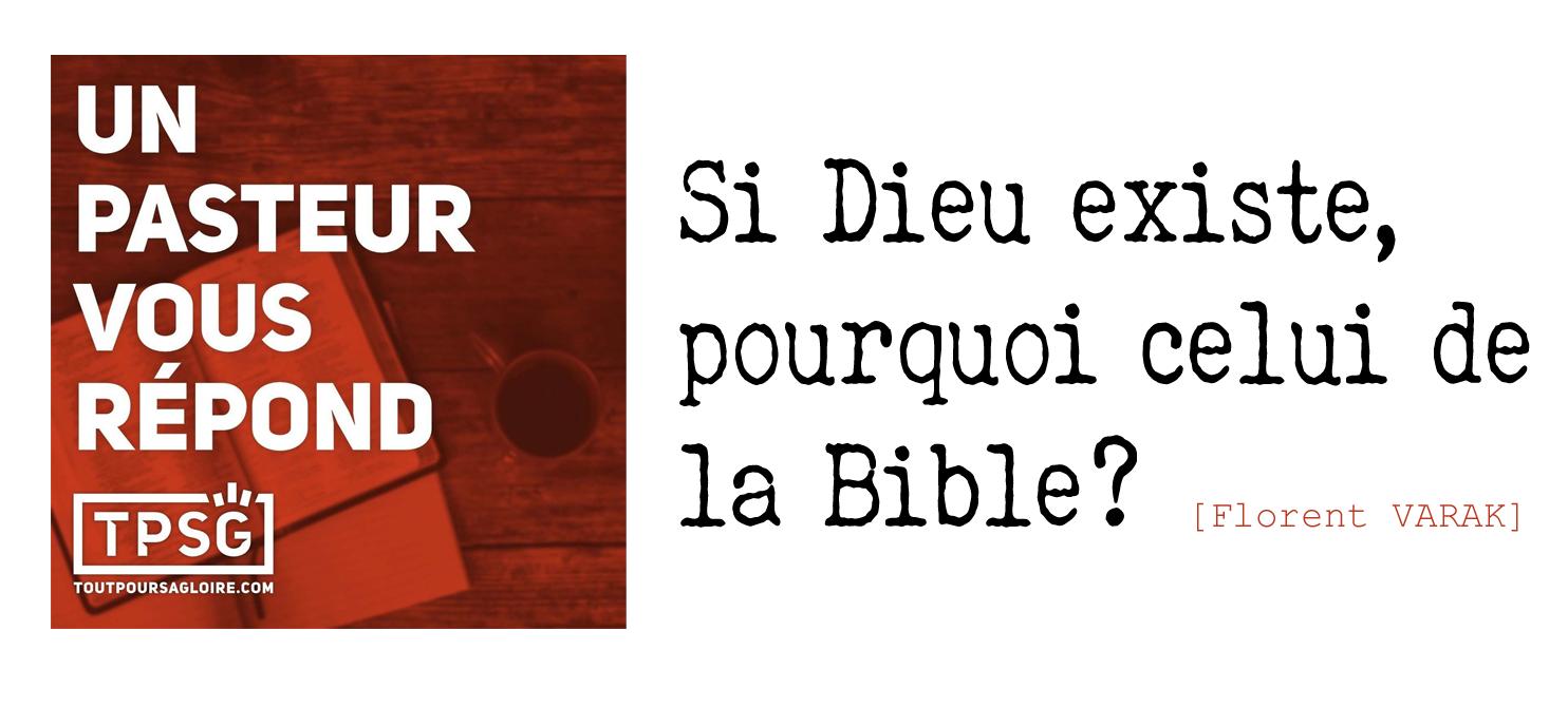 Dieu existe et c'est celui de la bible - Jésus et l'Éternel sont Un